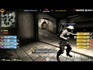 ESWC 2013 German Qualifier - 3DMAX vs. Berzerk (de_dust 2) Map 1