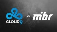 Cloud9 vs. MIBR - ELEAGUE CS:GO Premier 2018 (Cache | Map 2)
