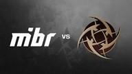 MIBR vs. Ninjas in Pyjamas - FACEIT Major 2018 Legends Stage (Train | Map 3)