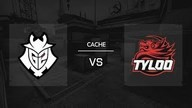 Cache / Map 3   G2 Esports vs. TyLoo - IEM Katowice 2019 New Challengers Stage - Runde 5