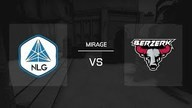 Mirage / Map 2 | No Limit Gaming vs. Berzerk - 99Damage Liga Saison 11 - Spieltag 2