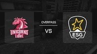 Overpass / Map 2 | Unicorns of Love vs. EURONICS Gaming - 99Damage Liga Saison 11 - Spieltag 2